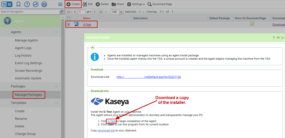 Migrating Agents from SaaS to On-Premise  – Kaseya Support