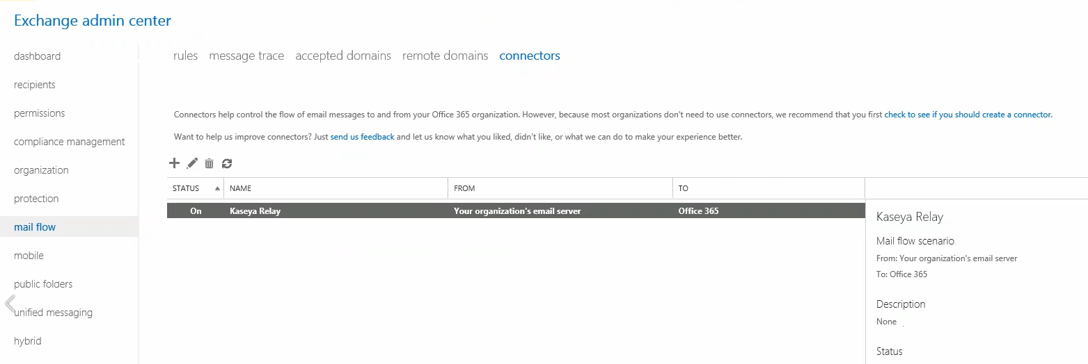 Setting up Custom SMTP with Office 365 as Outbound Email in
