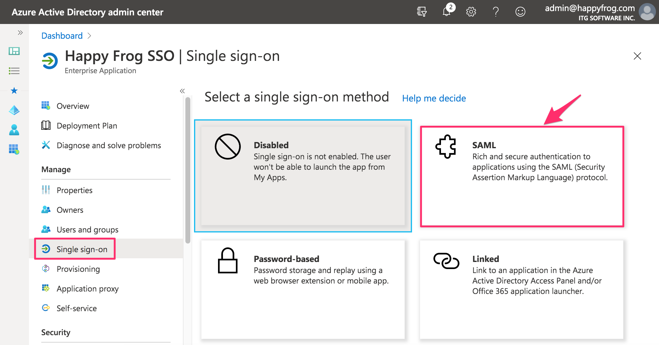 Happy_Frog_SSO___Single_sign-on_-_Azure_Active_Directory_admin_center.png